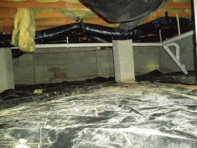 Crawl Space Dehumidifier Installed in Barnegat, NJ