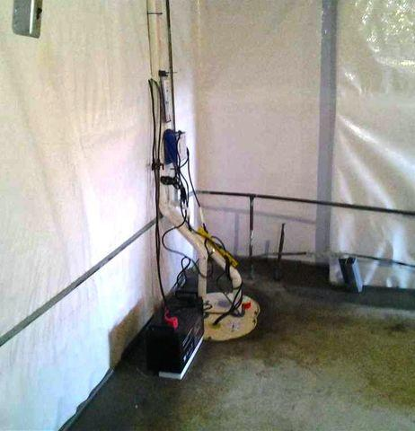 Basement Waterproofing to Finish Basement in Toms River