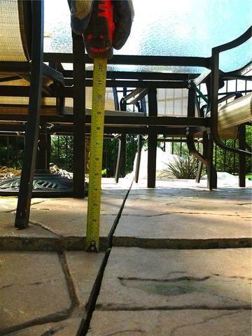 Princeton Junction Patio Concrete Raised