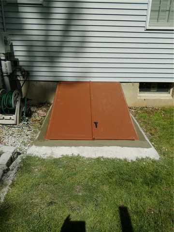 Bilco Door Repair in Mendham, NJ Basement