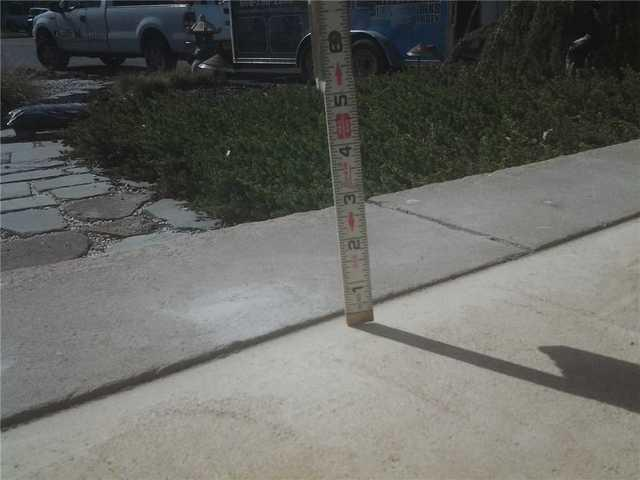Sinking Concrete Porch Repair in Island Heights, NJ
