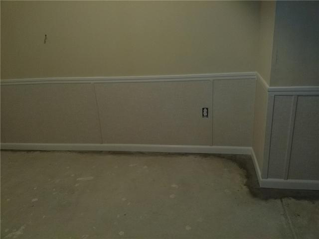 Basement Finishing Wall Replacement Keeps Absecon Home Dry