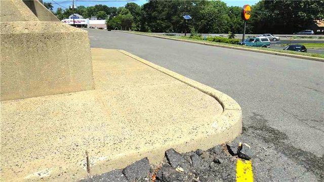 Woodbridge Shopping Center Concrete Leveling