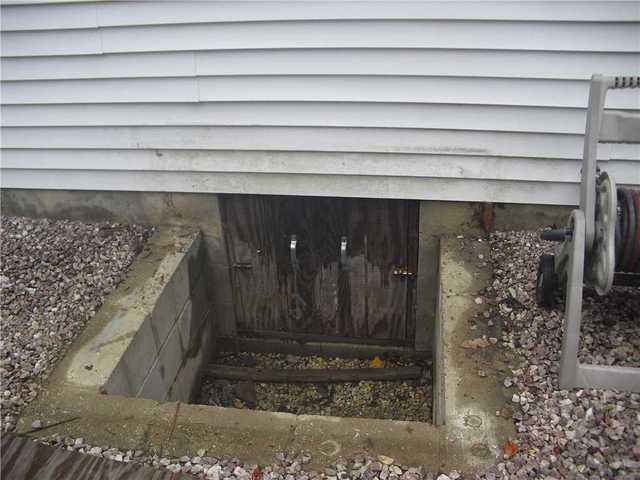 Crawl Space Entry Well Installed in New Egypt, NJ