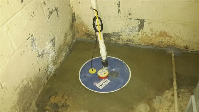 Efficient Sump Pump Installed in Riverdale, NJ