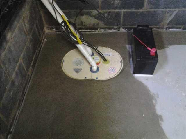 Basement Repaired with TripleSafe Sump Pump in Piscataway, NJ