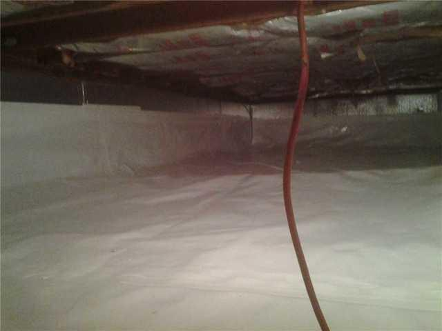 Crawl Space Insulation Stops Winter Draft in Caldwell, NJ