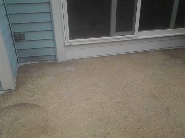 Ocean County Concrete Patio Sinking