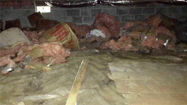 Nasty Crawl Space Repair in Hightstown, NJ