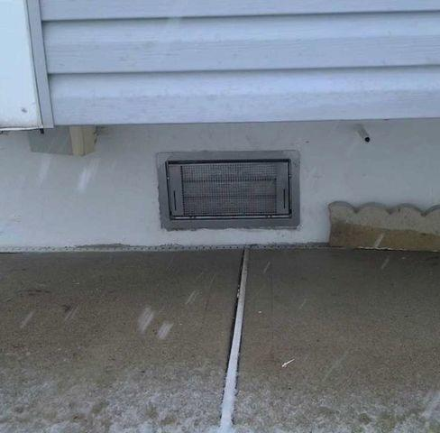 Flood Vents Installed in Toms River Crawl Space