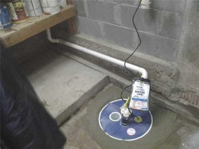 SuperSump and LawnScape installation fixes wet basement in Fords, NJ