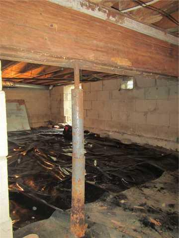 Rusty Crawl Space Supports Replaced in Ocean Township, NJ
