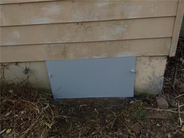 Waterproof Crawl Space Door Installed in Chatsworth, NJ