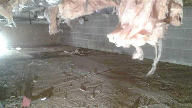 Princeton Junction Concrete Floor Crawl Space Insulation