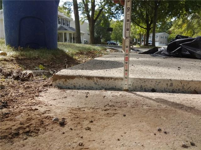 Concrete Slab Lifted in Peapack, NJ