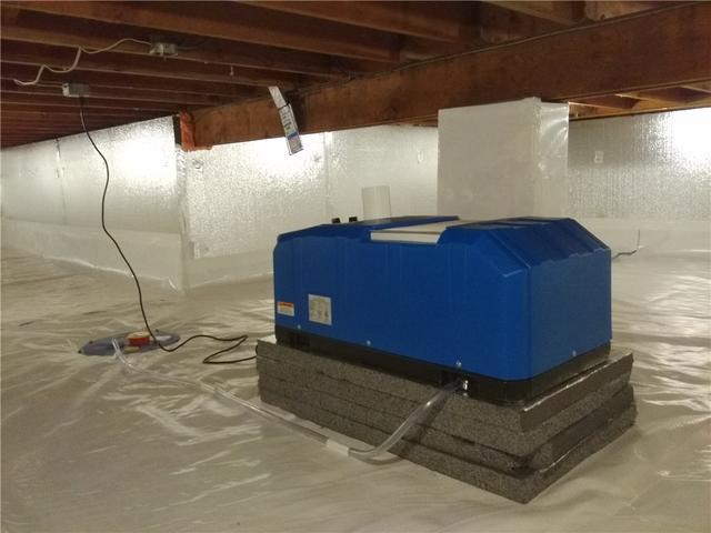 Crawl Space Dehumidifier Installed in Emerson, NJ