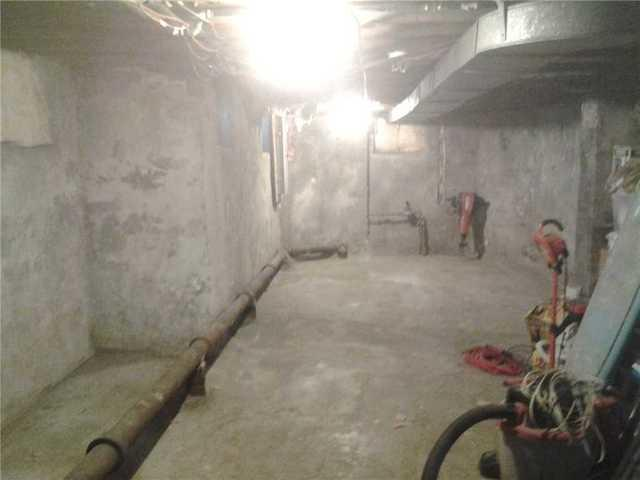 Basement Wall Vapor Barrier Installed in Nutley, NJ