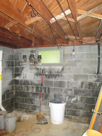 WaterGuard and Zen Wall Installation - Before Photo