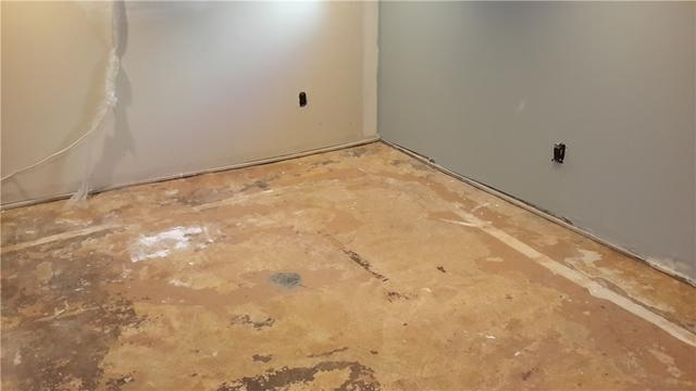 New Basement Flooring Installed in a Finished Basement in Linden, NJ