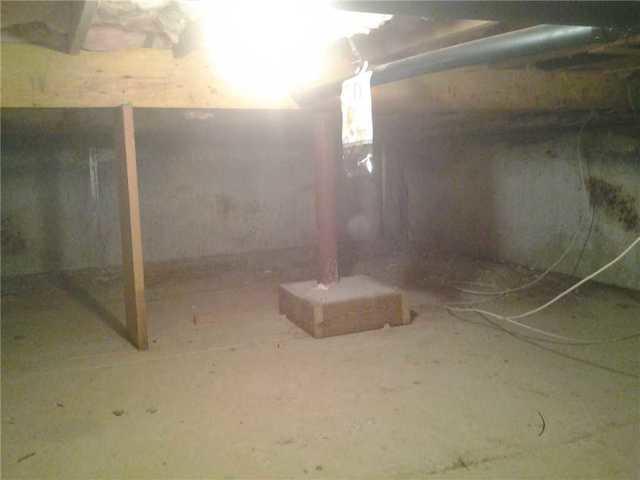Concrete Floors Causing Cold Air in Bridgewater, NJ Crawl Space