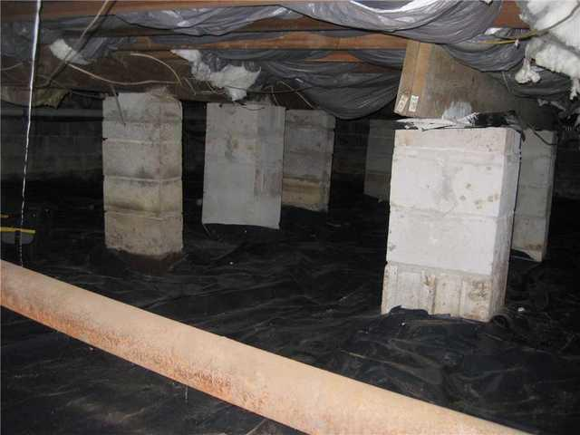 Crawl Space Liner Installed in Monmouth County, NJ