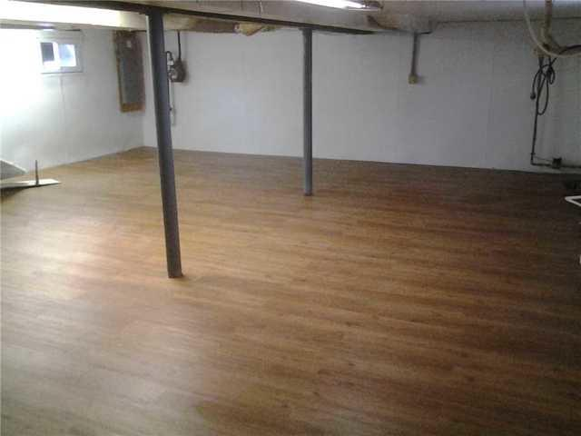 Basement Suitable Wood Finish Flooring Installed in Bergen County