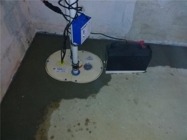 Reliable Sump Pump Installed in Maple Shade, NJ - After Photo