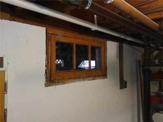 Vinyl Basement Window install in Morris Plains, NJ