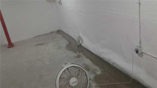 CleanSpace Wall Install brightens basement in Fort Lee, NJ