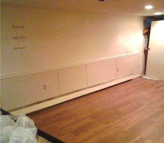 Union City Basement Walls and Flooring Repair!