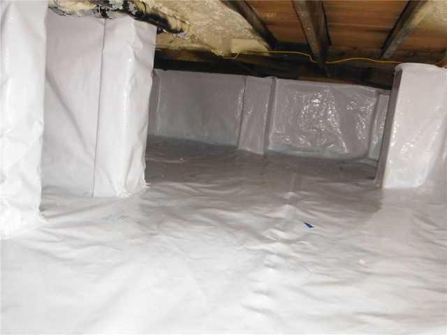 Crawl Space repair with a CleanSpace Liner in Monmouth Beach, NJ