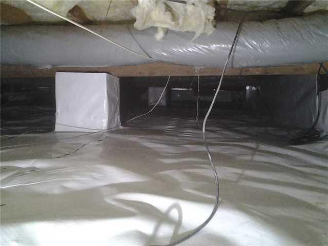 Crawl Space Vapor Barrier Creates Healthier Home in Manahawkin