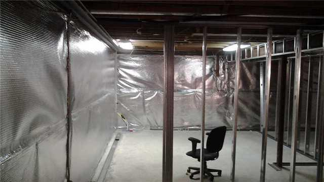 Basement Wall Insulation in Princeton Junction, NJ
