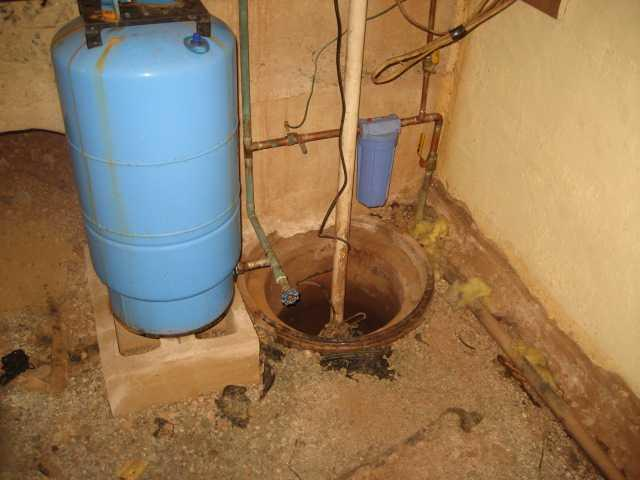 Old Sump Pump Replacement in Readington, NJ