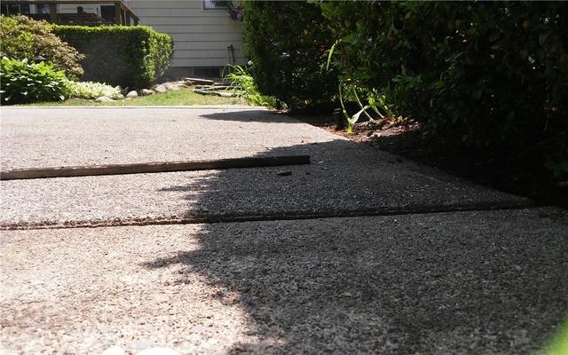 Uneven Concrete Raised in Bergen County, NJ