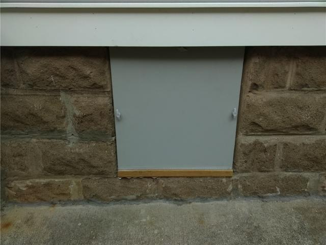 Crawl Space Door Installed in New Milford, NJ