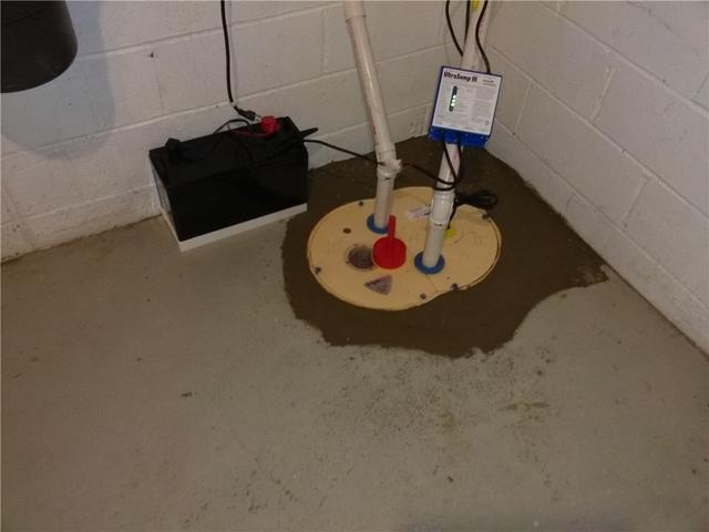 Failed Sump Pump Replaced in Morristown, NJ
