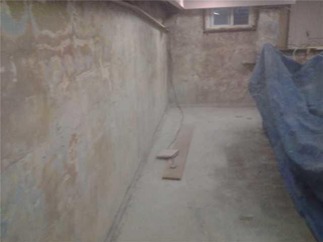 Westfield Wet Basement Waterproofed