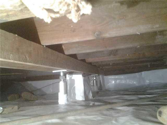 Crawl Space Support in Princeton, NJ