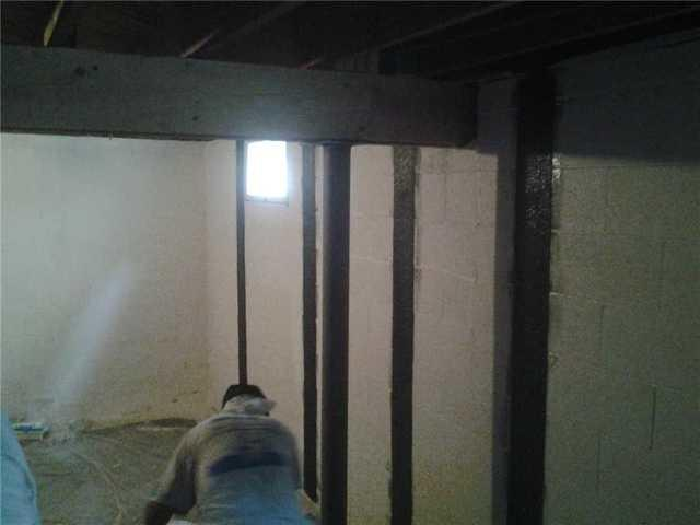 Bowing Basement Walls Repaired in Sea Girt
