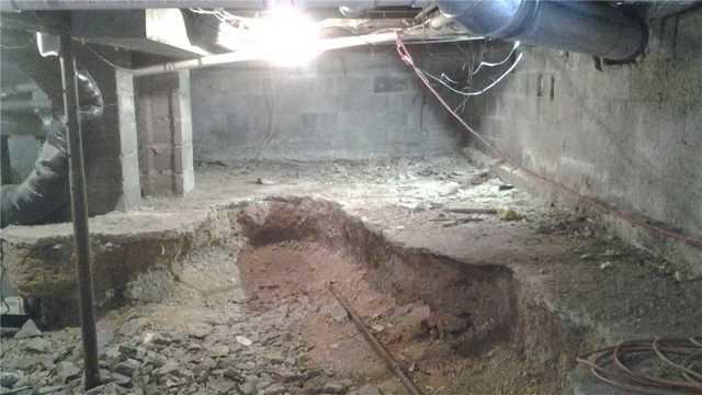 Crawl Space Vapor Barrier and Foundation Repair in Haskell, NJ