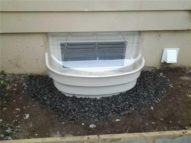 Window Well Enclosure Installed in Morristown, NJ