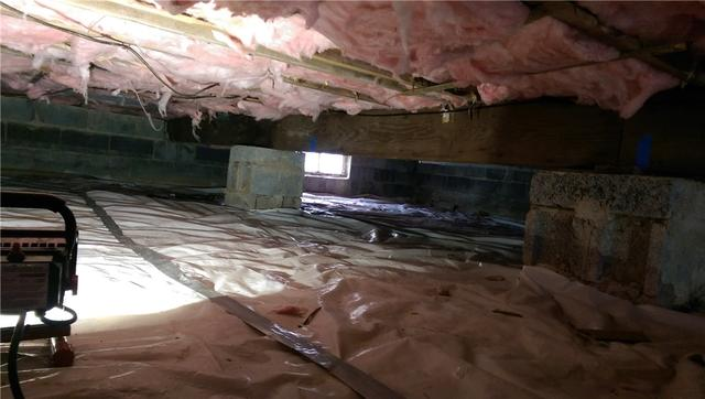 Crawl Space Beam Support System in Green Village, NJ