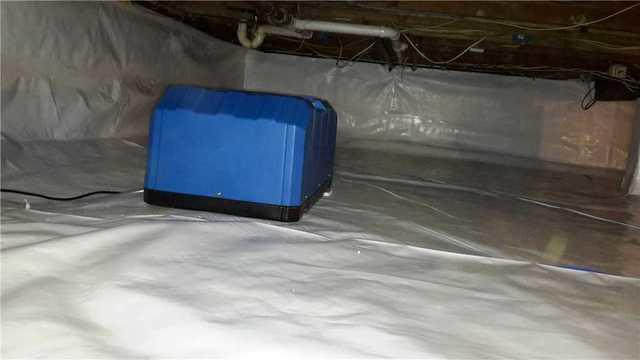 Crawl Space Waterproofing and Dehumidifcation in Belford, NJ