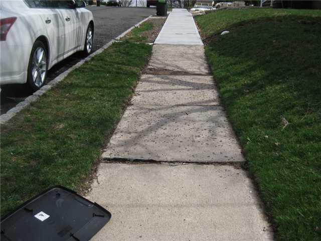 PolyLevel Raises Essex County Sidewalk
