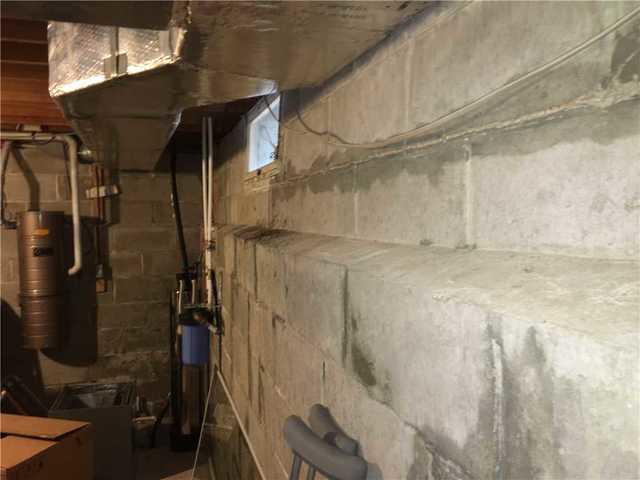 Bowing Foundation Wall Repaired in Springfield, NJ