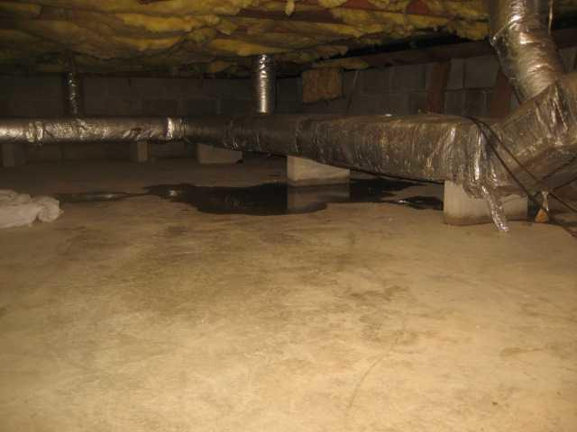 Crawl Space Flooding Problems Fixed in Florham Park, NJ!
