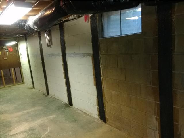 Bowing Walls Repaired in Willingboro, NJ