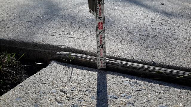 Trip Hazard Fixed in Harrington Park, NJ