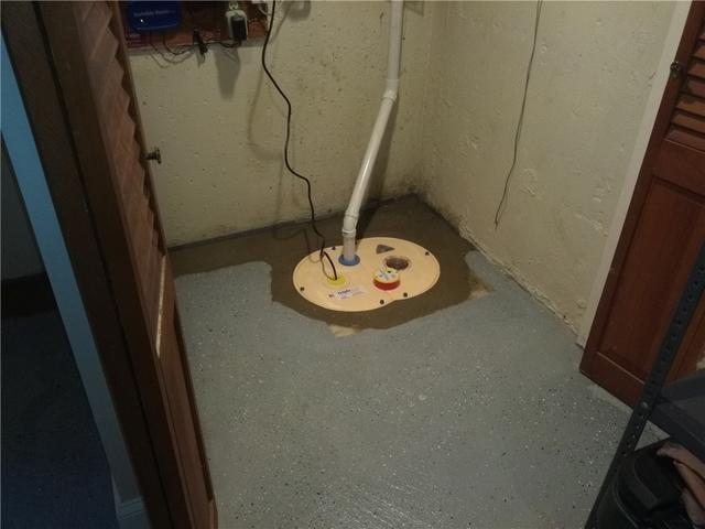Updated Sump Pump Keeps Mendham Dry